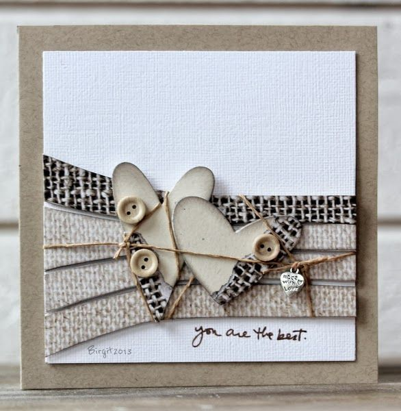 collage/stamp... This would be great for a mini page.  Love the hearts and…