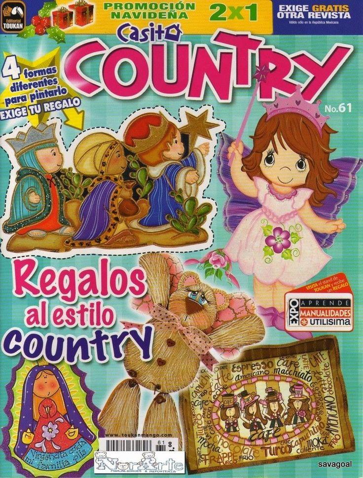 Manualidades estilo country revista gratis