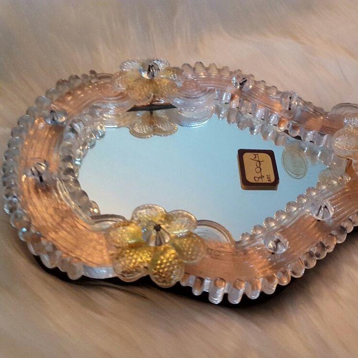Antique Venetian Murano mirror
