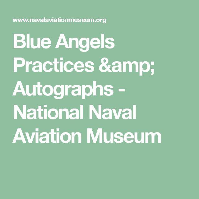 Blue Angels Practices & Autographs - National Naval Aviation Museum