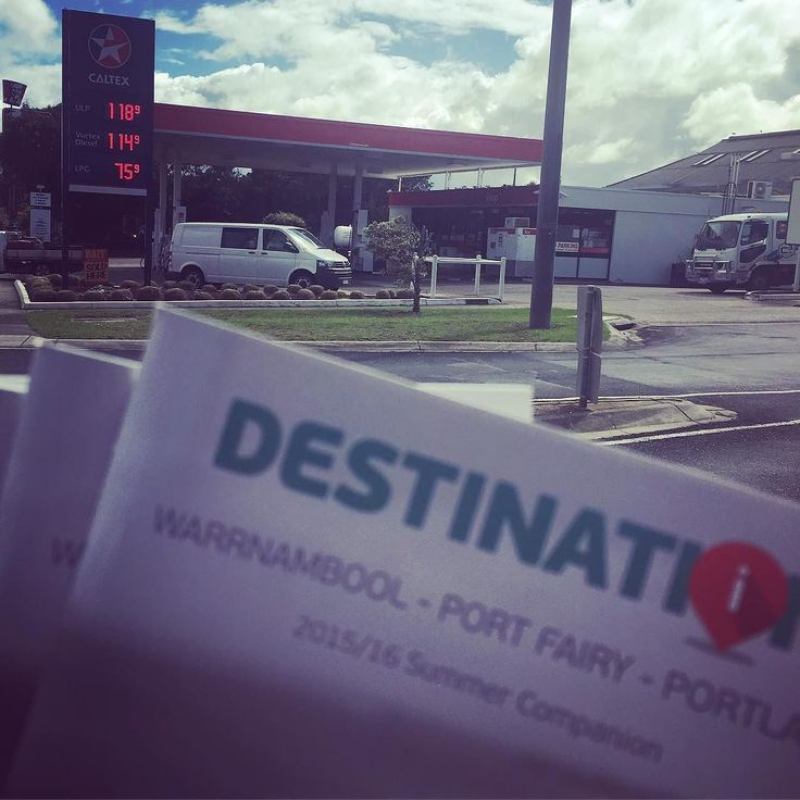 Some copies of our destination magazine can be picked up free from the very friendly crew at Caltex in #destinationportland #socialcatnetwork @caltex_aus by destinationportland