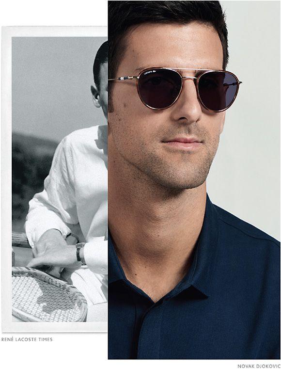 1f5fba6bdcf6 Lacoste eyewear from Marchon presents the first Novak Djokovic Eyewear  Collection