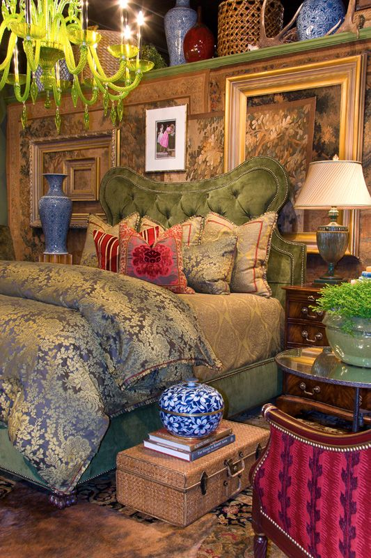 Eclectic Bedroom by Gary Riggs