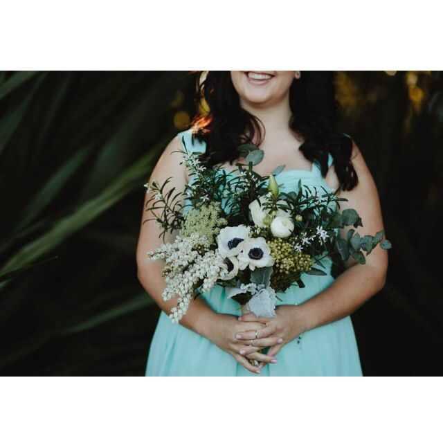 Nicole's bridesmaids were gorgeous! Photo by Justin Aaron Weddings.