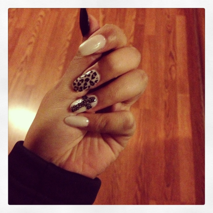 Oval Nails Design Tumblr Oval shaped nai...