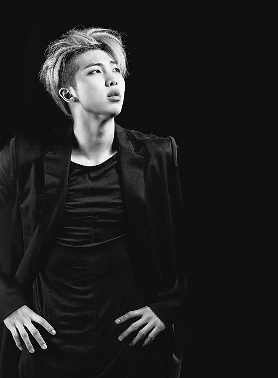 BTS Rap Monster • Kim Namjoon. Sole purpose of this photo is ruining my life.