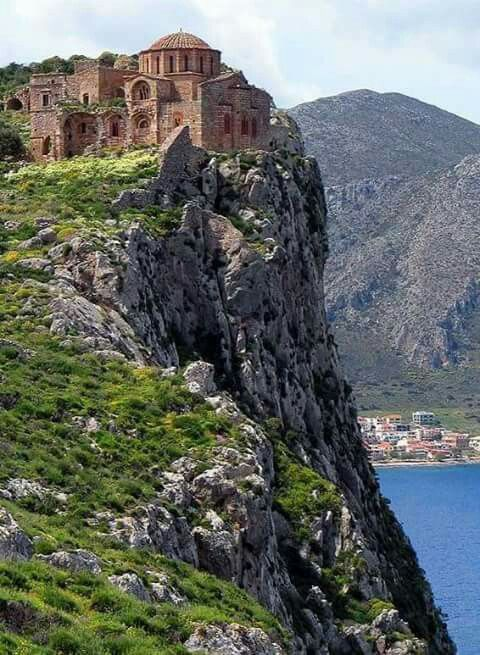 Church of Agia Sofia, Monemvasia, Peloponnese, Greece