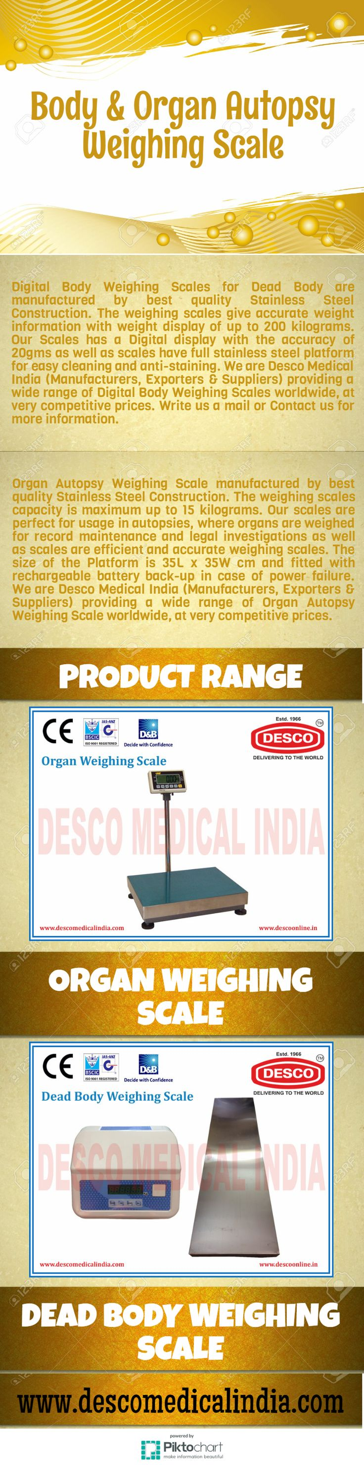 Digital Body Weighing Scales for Dead Body are manufactured by best quality Stainless Steel Construction.