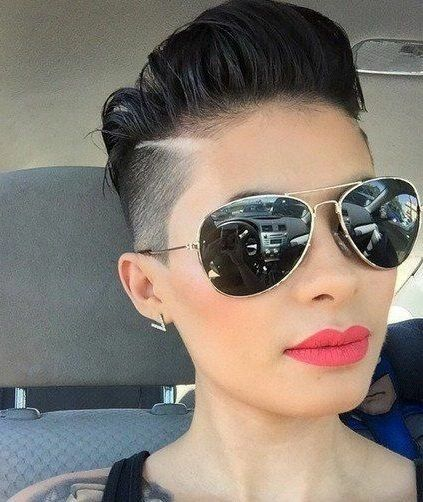 There is Somthing special about women with Short hair styles. I'm a big fan …