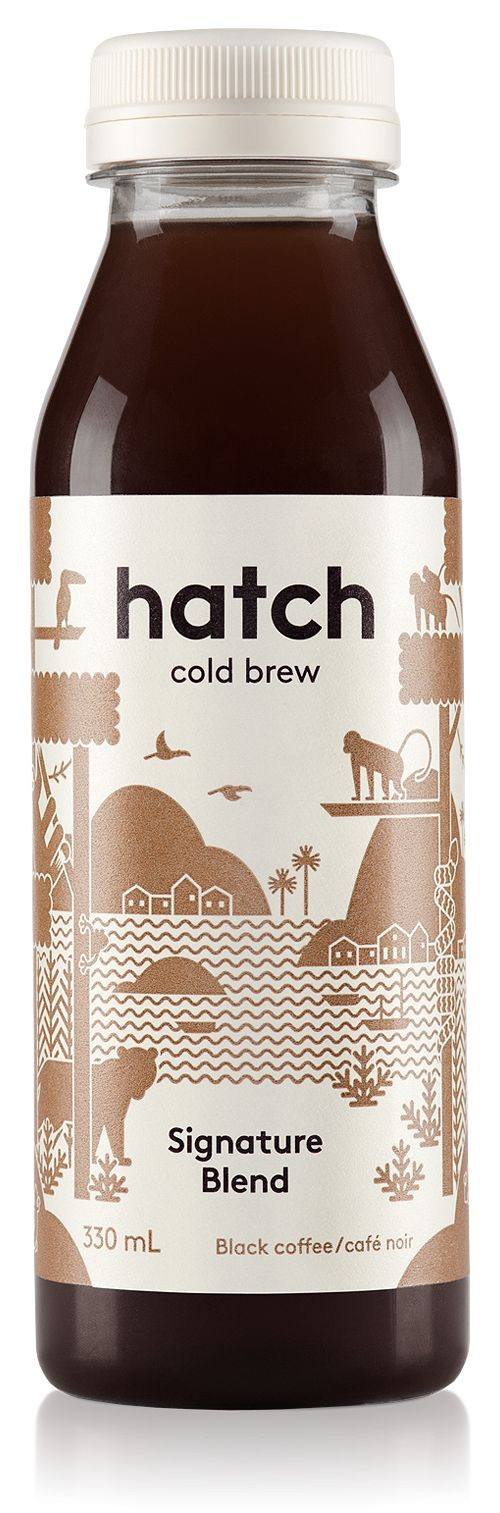 Hatch Cold Brew Coffee Bottle