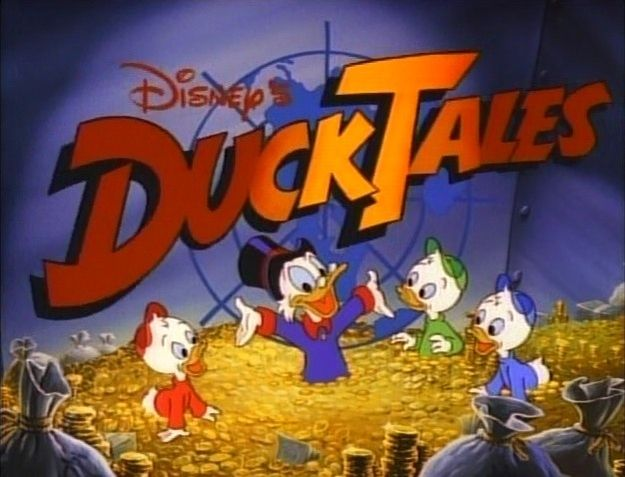 """Is it sad that I watched every single one of these as a kid? DuckTales 