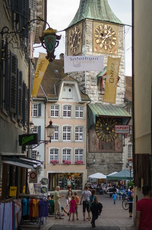 Solothurn, Switzerland, worth a stop-over, also visit the art museum (Hodler, Amiet, other Swiss)