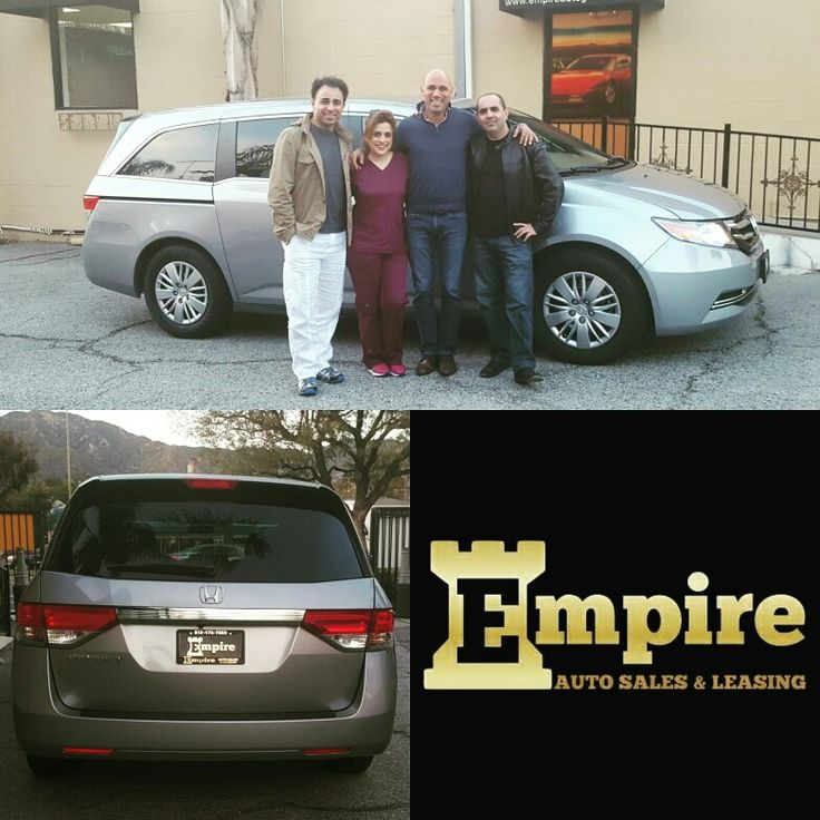 Congratulations Dear Christine and Alen on your Brand New Honda Odyssey.  Thank you again for your loyalty. #empireauto #new #car #lease #purchase #finance #refinance #newcarlease #newcarfinance #leasingcompany #customerservice #GlenoaksBlvd #glendale #brokerage #autobrokersales #autobroker #autobrokers #wholesaler #freeoilchange #freemaintanance #2016hondaodysseylx
