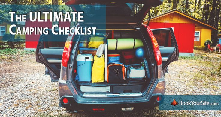 This tent camping checklist will help you prepare for your next trip. Consult this list of camping supplies to make sure you don't forget anything.