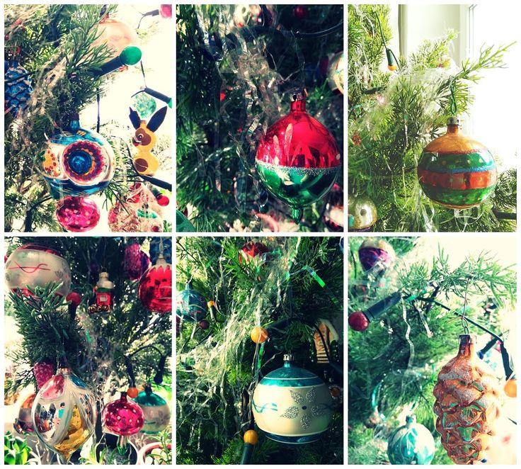 SentiMentiu0027s world Retro VintageBallsChristmas OrnamentsDiy Christmas