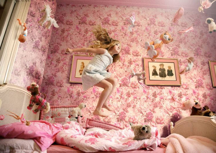 ...jumpin on the bed :)
