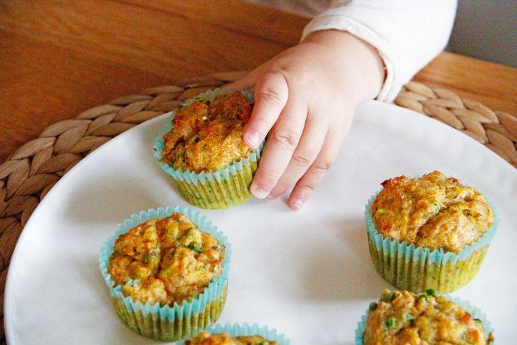 Recipe: Tasty vegetable muffins for kids   – Ernährung Kleinkinder