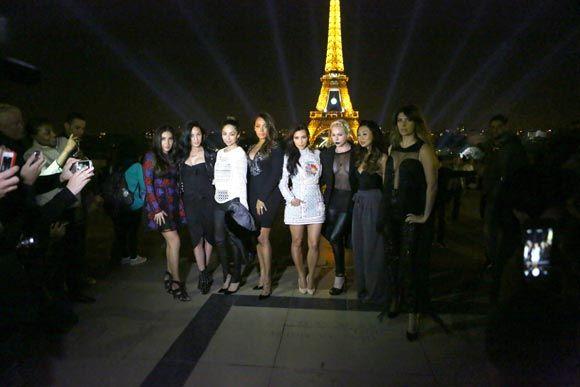 Kim Kardashian convierte París en una 'postal' en su explosiva despedida de soltera.