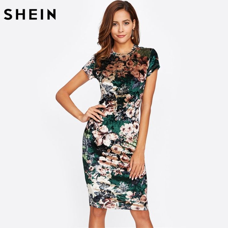 Like and Share if you want this  SHEIN Form Fitting Floral Velvet Dress Green Sexy Women Autumn Dress Short Sleeve Knee Length Elegant Pencil Dress     Tag a friend who would love this!     FREE Shipping Worldwide     Buy one here---> https://onesourcetrendz.com/shop/all-categories/womens-clothing/womens-dressers/shein-form-fitting-floral-velvet-dress-green-sexy-women-autumn-dress-short-sleeve-knee-length-elegant-pencil-dress/