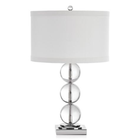 Spheres Table Lamp From Z Gallerie Table Lamps For Bedroom Table Lamp Affordable Modern