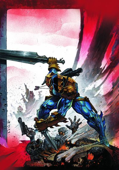DEATHSTROKE returns in this new title from writer KYLE HIGGINS with art by JOE BENNETT and others! Description from westfieldcomics.com. I searched for this on bing.com/images