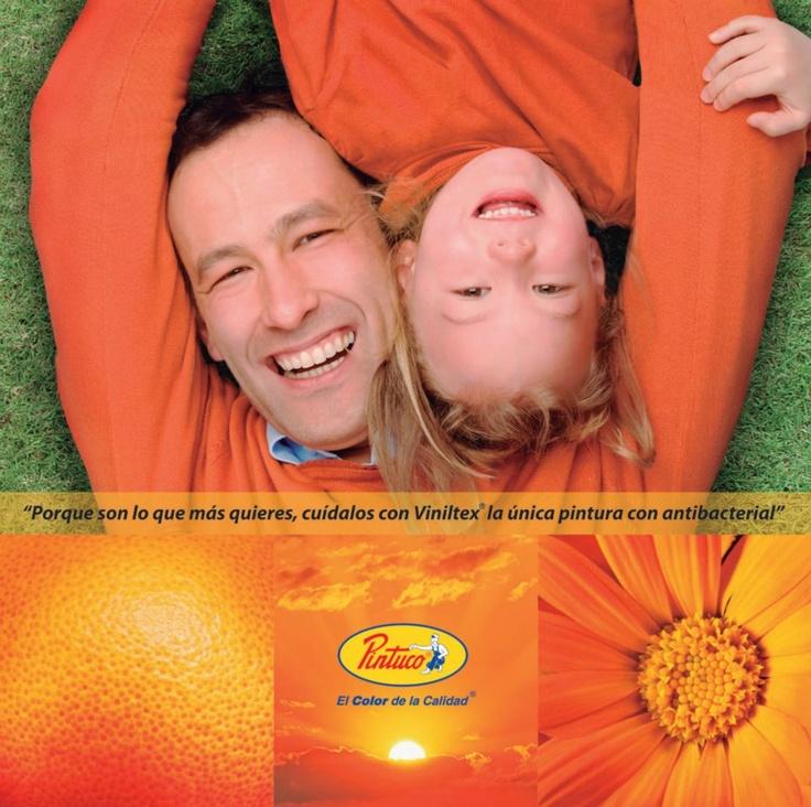 Colores naranjas