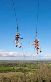 Adrenalin Addo offers Zip Line trips near Port Elizabeth, South Africa.