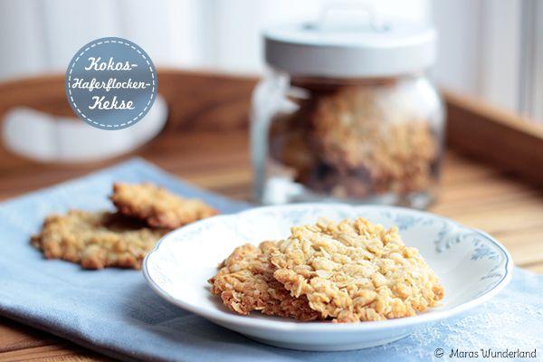Kokos-Haferflocken Kekse :)