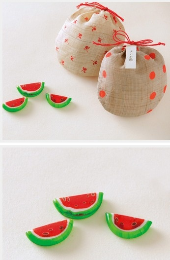 Japanese Candy. Missed this cute #packaging in my watermelon collage : ) PD