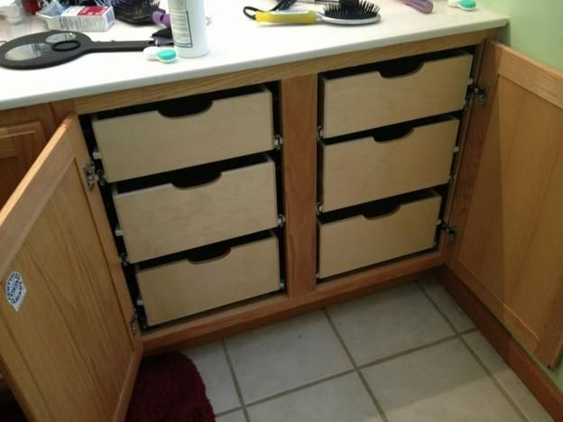 Pull Out Cabinet Drawers Kitchen, Roll Out Cabinet Drawer
