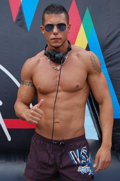 DJ gay boy danceinstructor