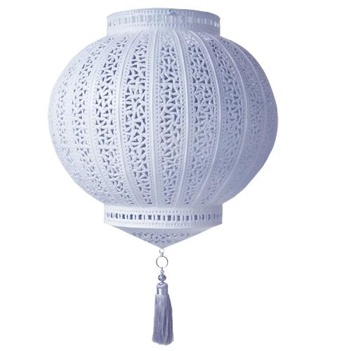 Marokkaanse lamp Hilal grijs | Marokkaanse lampen & Sfeerverlichting | Woonaccessoires | El Ramla Hamra