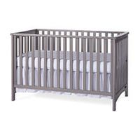 Child Craft London Euro Colors 3-in-1 Convertible Crib - Cool Gray