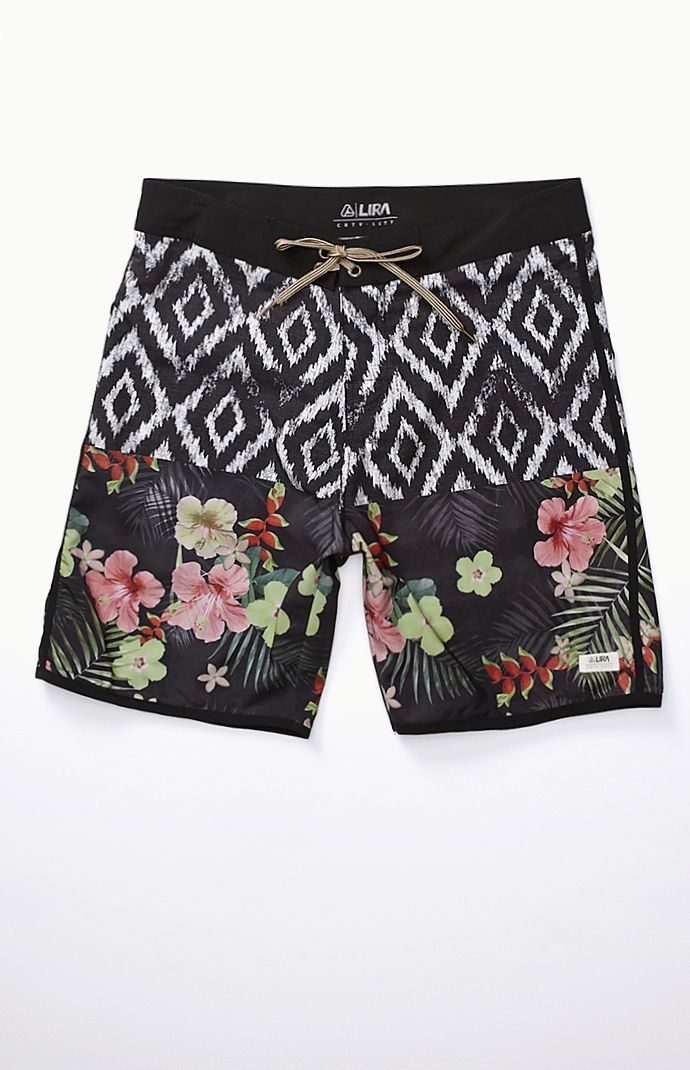 Lira Point Break Boardshorts – Mens Board Shorts – Black