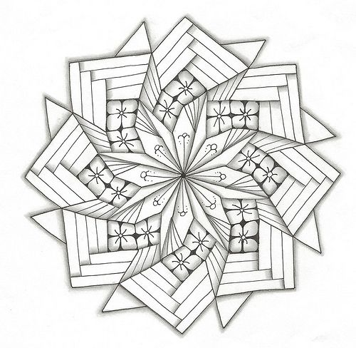 Pinwheel Fold art Pinterest Paint chips Mandala and