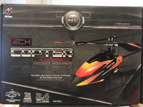 Helicopters 123847: Wl Toys 4Ch Copter Micro Series