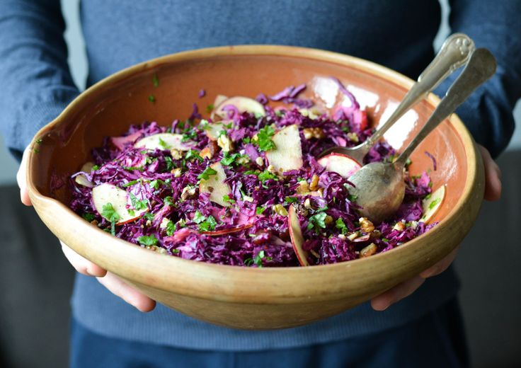 Red Christmas salad