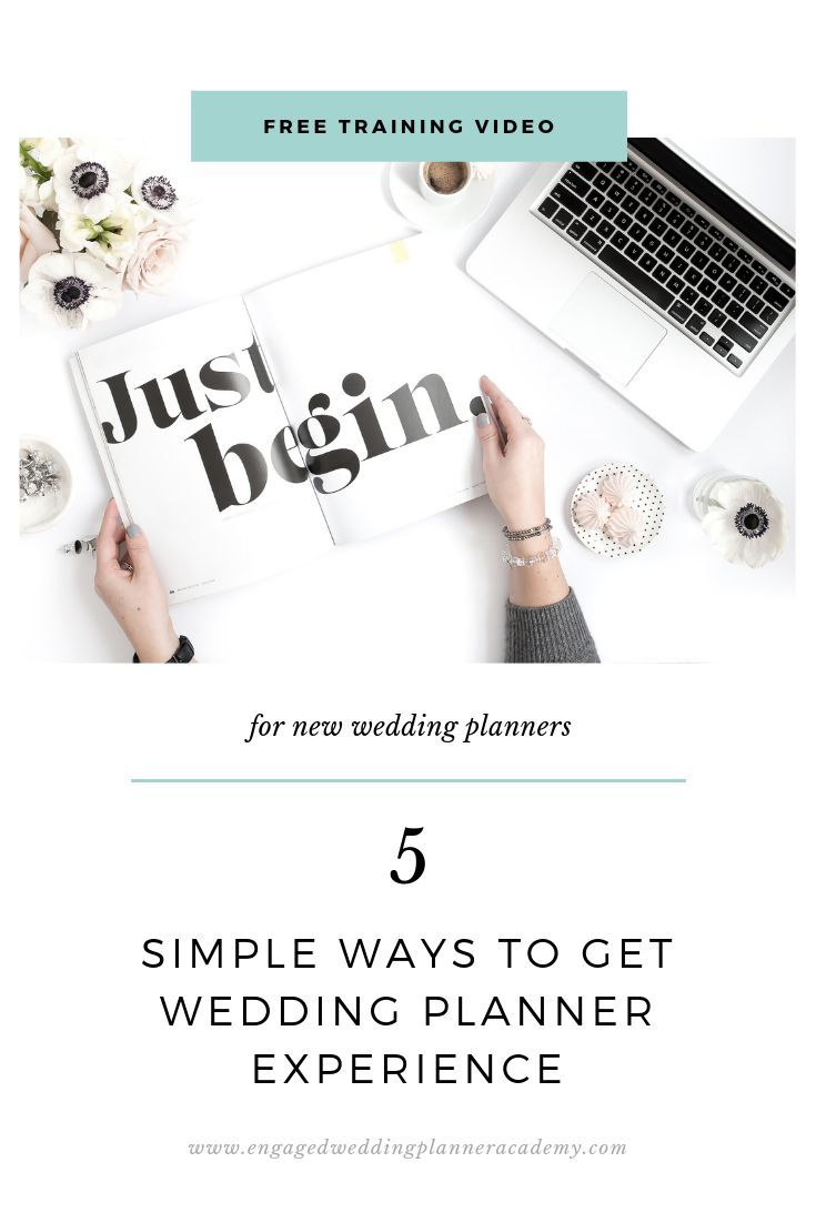 5 Simple Ways To Get Wedding Planner Experience Wedding Planner Business Wedding Planner Education Wedding Planner Job