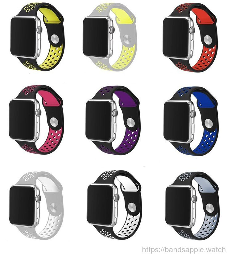 Silicone Sports Band for Apple Watch Strap 38mm 42mm Original Rubber Watchband for Apple Watch Series1 Series2 //Price: $27.56 & FREE Shipping //     #bracelet #ceramic #sport #rubber #apple #watch #applewatch #ios #band #applewatchfans