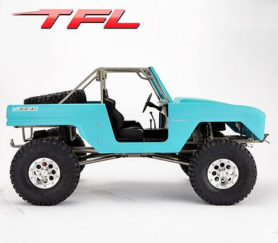 Price - $729.90. TFL RC Cars All-Wheel-Drive 1/10 SCX10 Bronco Rock Crawler KIT Painting Shell ( Brand - TFL, MPN - Does not apply, Compatible Scale - 1:10, Type - Airplanes, UPC - Does not apply    )