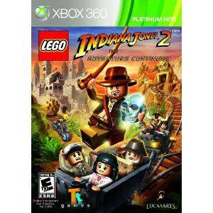 Amazon.com: Lego Indiana Jones 2: The Adventure Continues: Xbox 360: Video Games