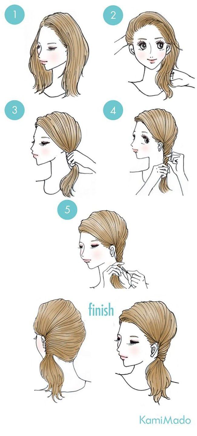 65 coiffures faciles et mignonnes en quelques minutes