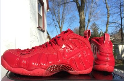 Nike Air Foamposite Pro Gym Red Yeezy Red October