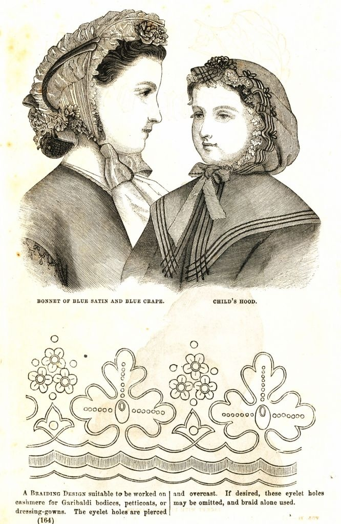 what-i-found: Civil War Fashions - Engravings from 1864 Ladies Friend Magazine Part 2