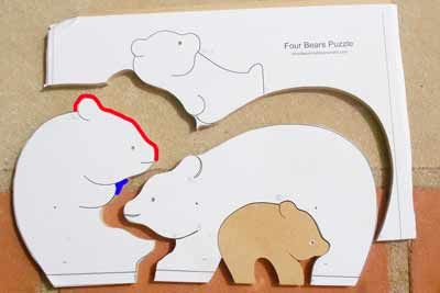 Free scroll saw patterns for the novice. Make this delightful animal puzzle, full size print ready PDF file with photos and instructions. Using a scroll saw for the first time can be a challenge...