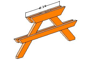 32 Free Picnic Table Plans + Top 3 Most Awesome Picnic Table Plan ...