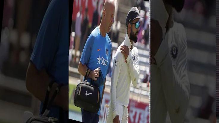 Good News For India ''No serious concerns with Kohli's shoulder strain s...