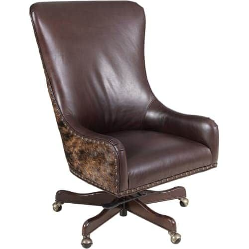Hooker Furniture EC420-086 Adjustable Height Leather Office Chair from the Harry