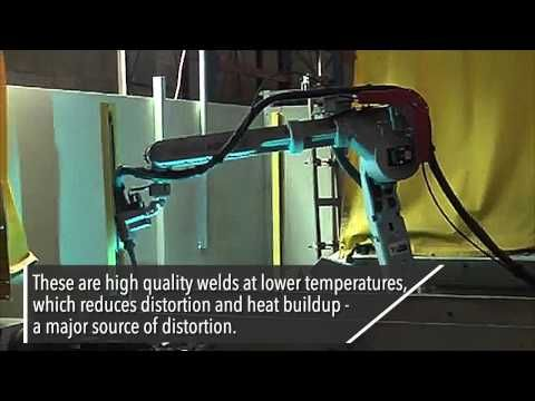 Our automated robotic welding is used in metal fabrication applications such as bonding, soldering and riveting. Visit us at https://www.youtube.com/watch?v=LpCsqcPZs6E for more information about our automated robotic welding.