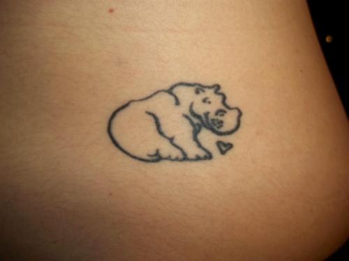 hippo: Animal Tattoo, Fyeahtattoo Com, Pink Hippo, Art Tat, Tattoo Piercing, Body Art, Francois Tattoo, Hippo Tattoo, Piercing Tattoo